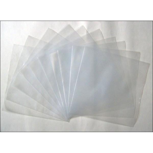 10 x Pochette Protection Vinyle 12 150 Microns Polyethylene