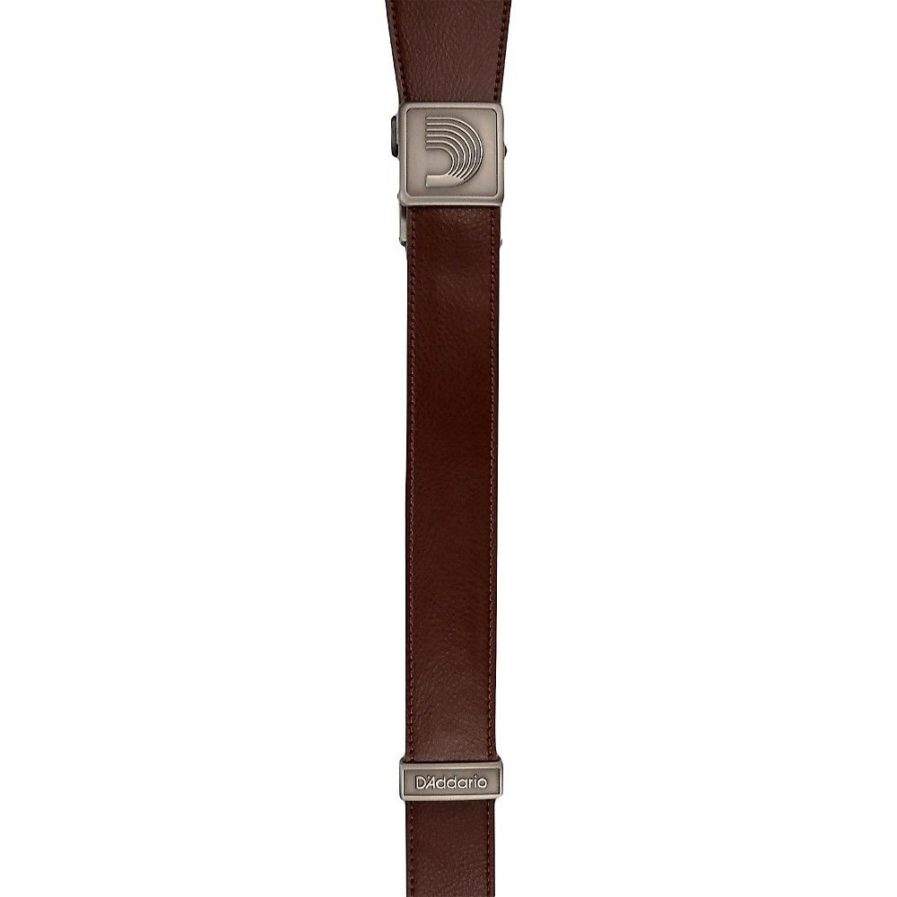 PLANET WAVES Sangle Cuir Core Fast Track Marron