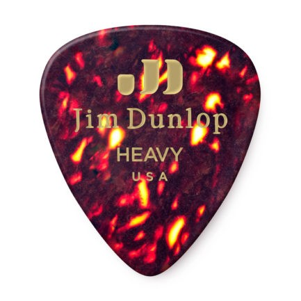 DUNLOP Mediators Celluloid x 12 Heavy