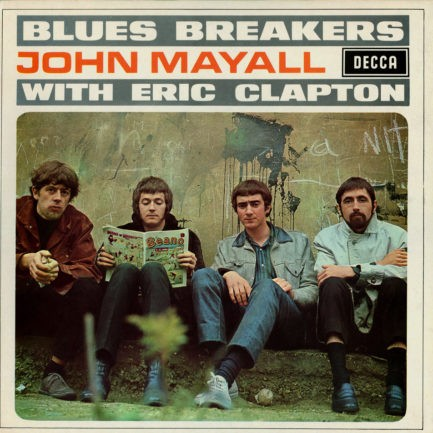JOHN MAYALL & THE BLUESBREAKERS Bluesbreakers With Eric Clapton
