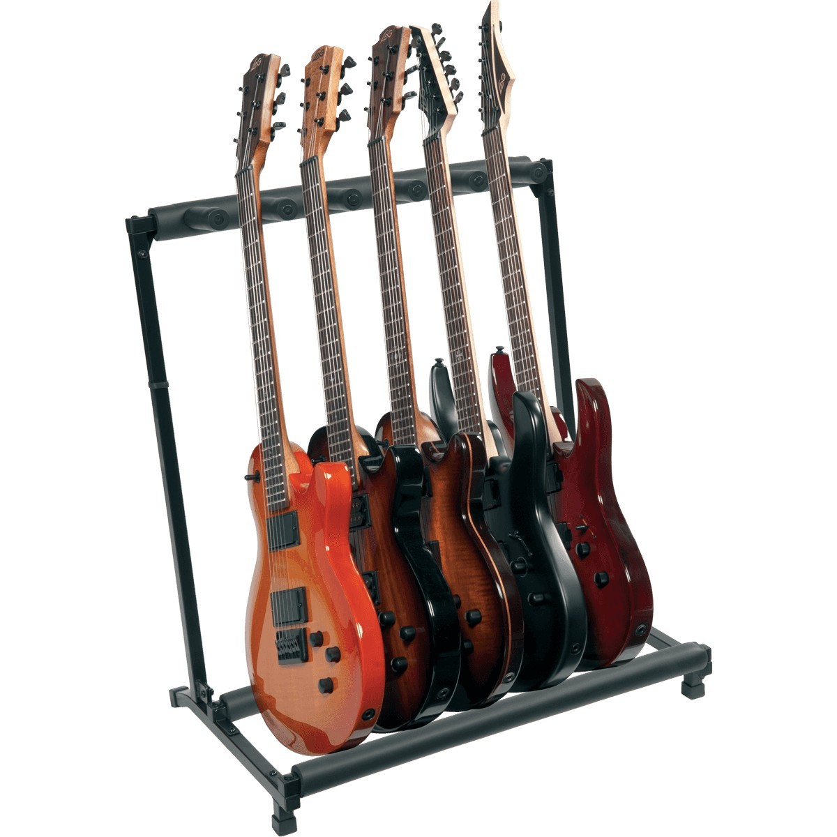 RTX Stand Guitare Rack 5 Guitares