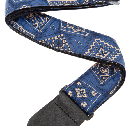 PLANET WAVES Sangle Nylon Rock Bandana Bleu