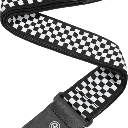PLANET WAVES Sangle Nylon Rock Damier