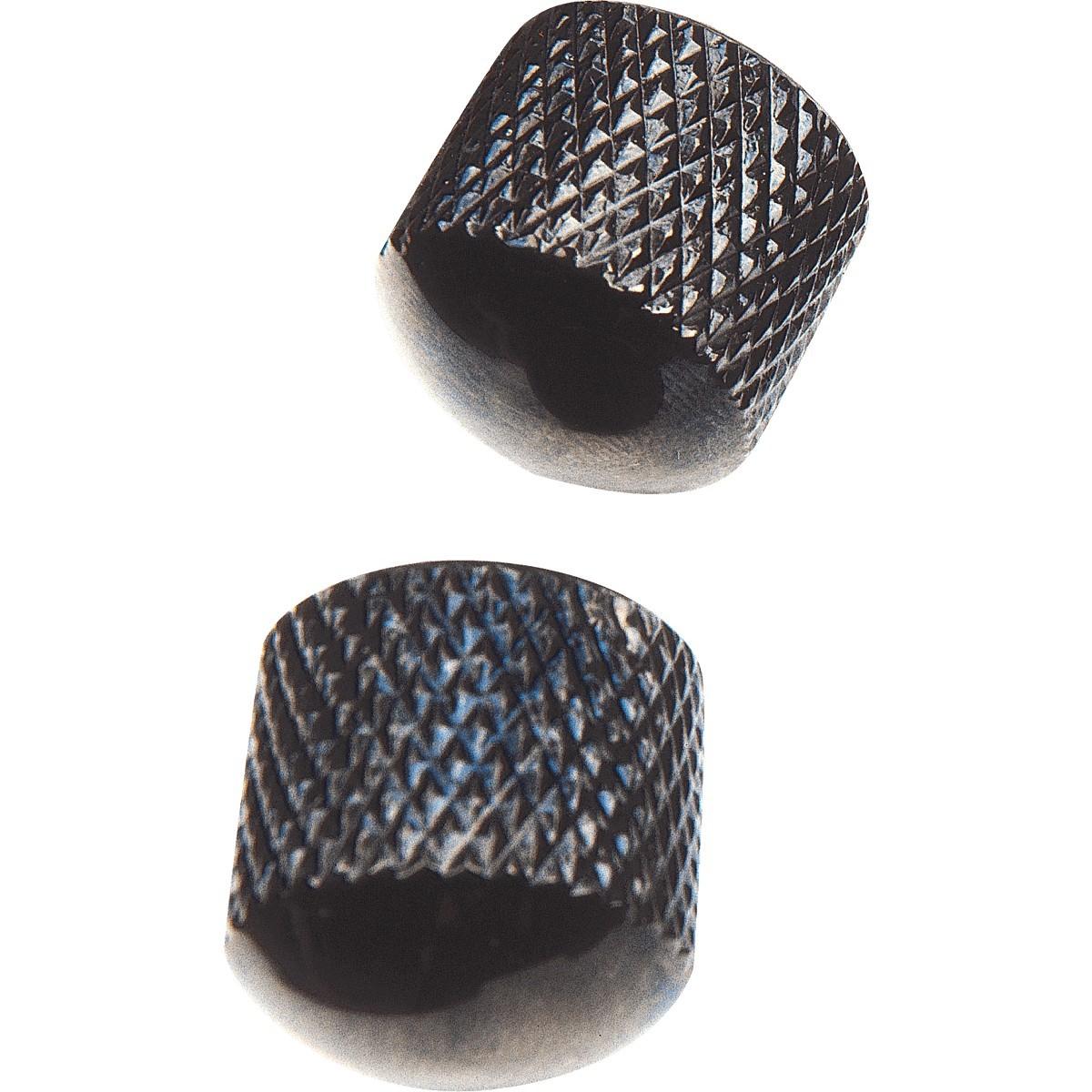 YELLOW PARTS Boutons De Réglages Dômes Noir