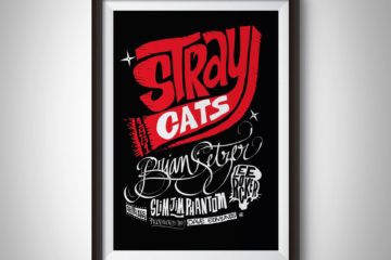 Affiche STRAY CATS