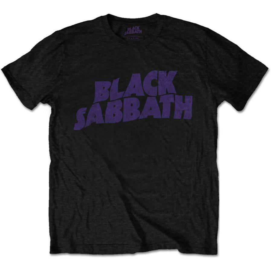 BLACK SABBATH Wavy Logo Vintage