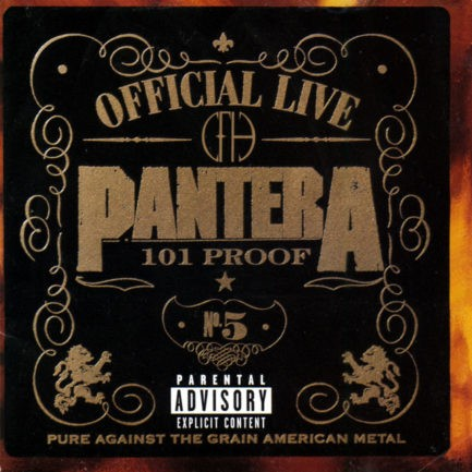 PANTERA Official Live 101 Proof