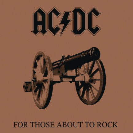 ACDC For Those About To Rock We Salute You