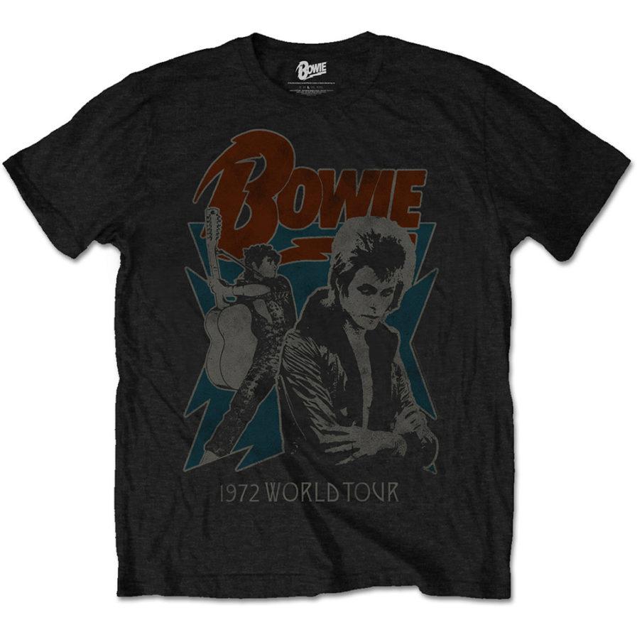 DAVID BOWIE 1972 World Tour