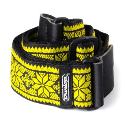 DUNLOP Sangle Jacquard Fillmore Yellow