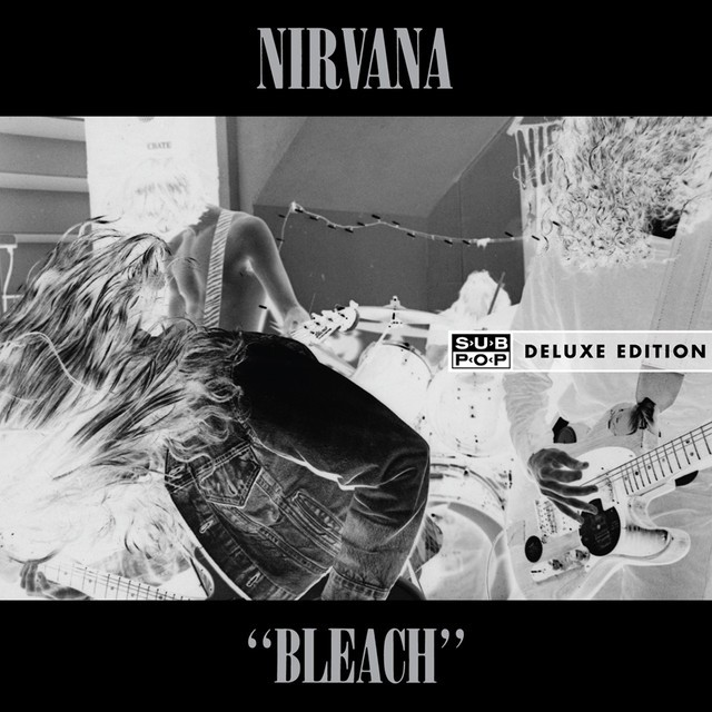 Produits Bleach: Vinyle NIRVANA Bleach [Sub Pop]