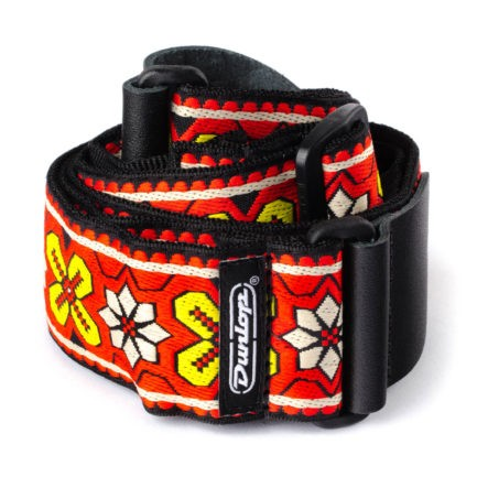 DUNLOP Sangle Jacquard Avalon Red