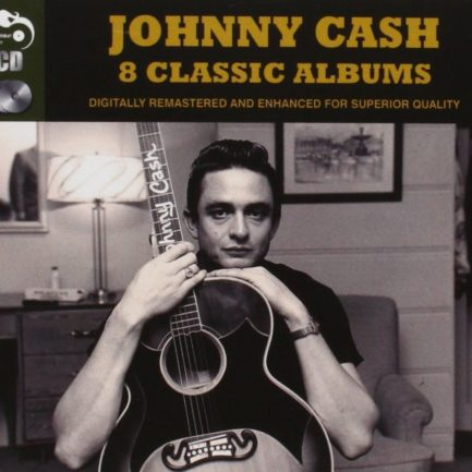 JOHNNY CASH Eight Classic Albums