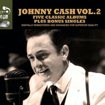 JOHNNY CASH Five Classic Albums Plus Bonus Singles