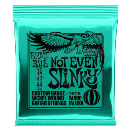 ERNIE BALL Cordes Electriques Slinky Nickel Wound Jeu Not Even Slinky 12-56
