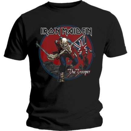 IRON MAIDEN Trooper Red Sky