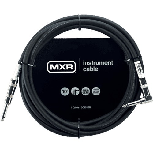 MXR Cable Instrument Standard Jack Jack Coude 3 M