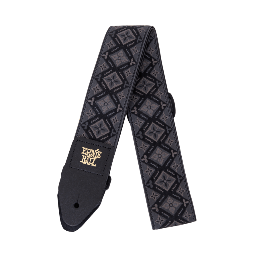 ERNIE BALL Sangle Jacquard Regal Black