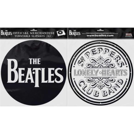 THE BEATLES Drop T Logo Sgt Pepper Drum