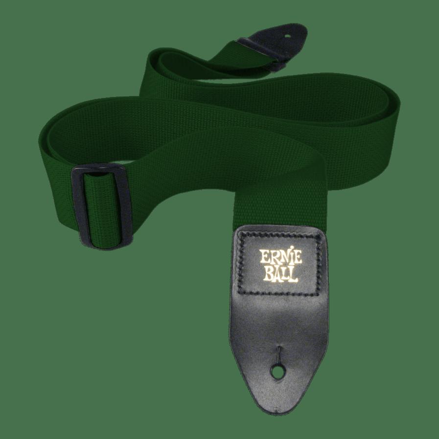 ERNIE BALL Sangle Polypro Vert Foret
