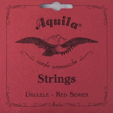 AQUILA Cordes Ukulele Red Series Tenor Do