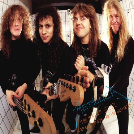 METALLICA The 5 98 EP Garage Days Re Revisited