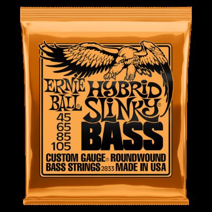 ERNIE BALL Cordes Basses Slinky Nickel Wound Jeu Hybrid Slinky 45 105
