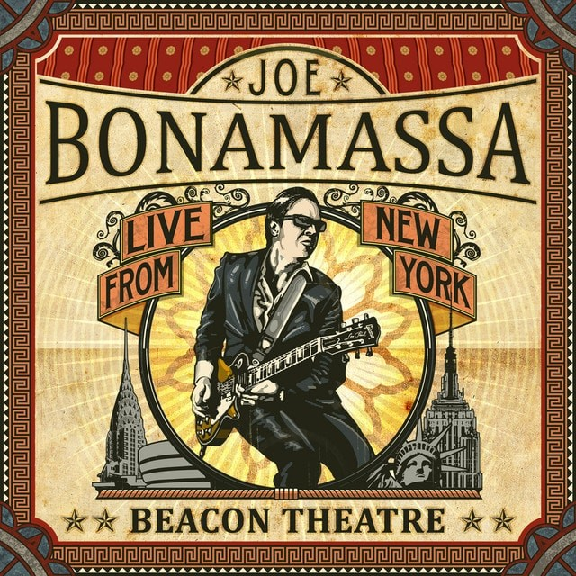JOE BONAMASSA Beacon Theatre Live From New York