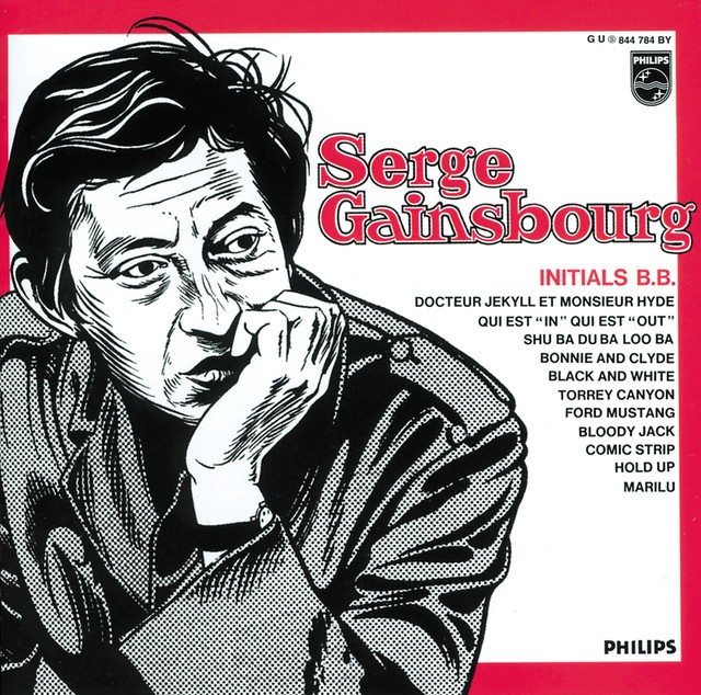 SERGE GAINSBOURG Initials BB