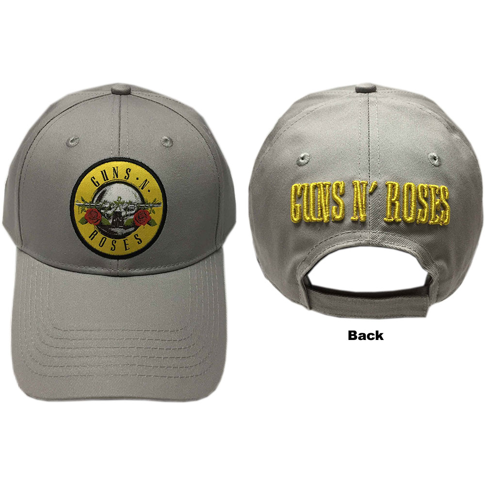 GUNS N ROSES Circle Logo Grey