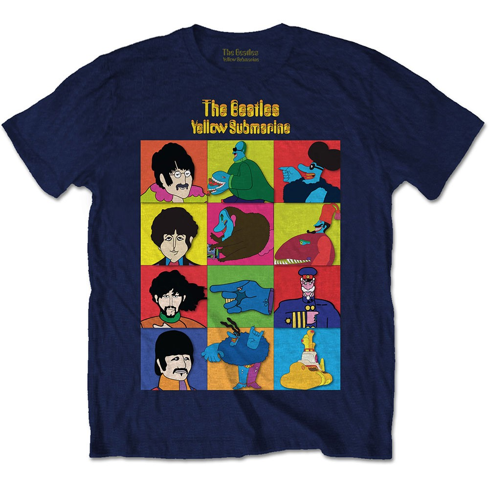 THE BEATLES Yellow Submarine Characters