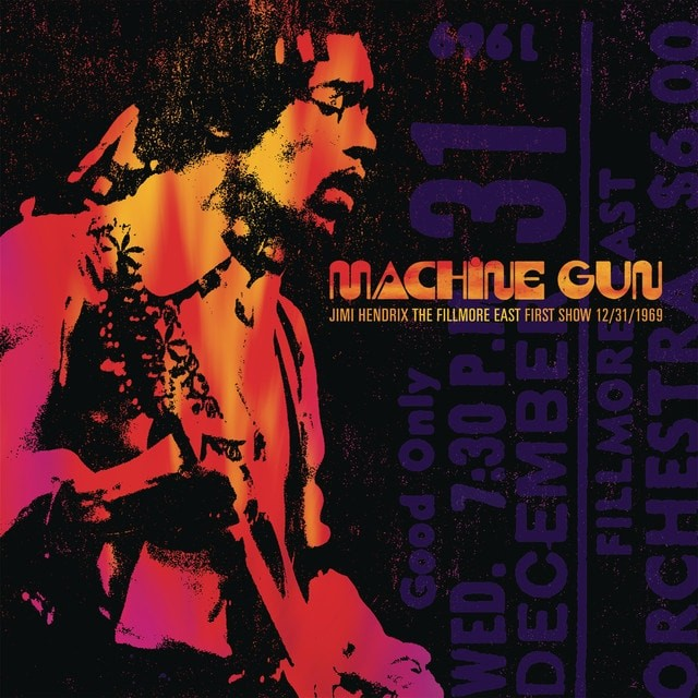 JIMI HENDRIX Machine Gun The Fillmore East First Show 12311969