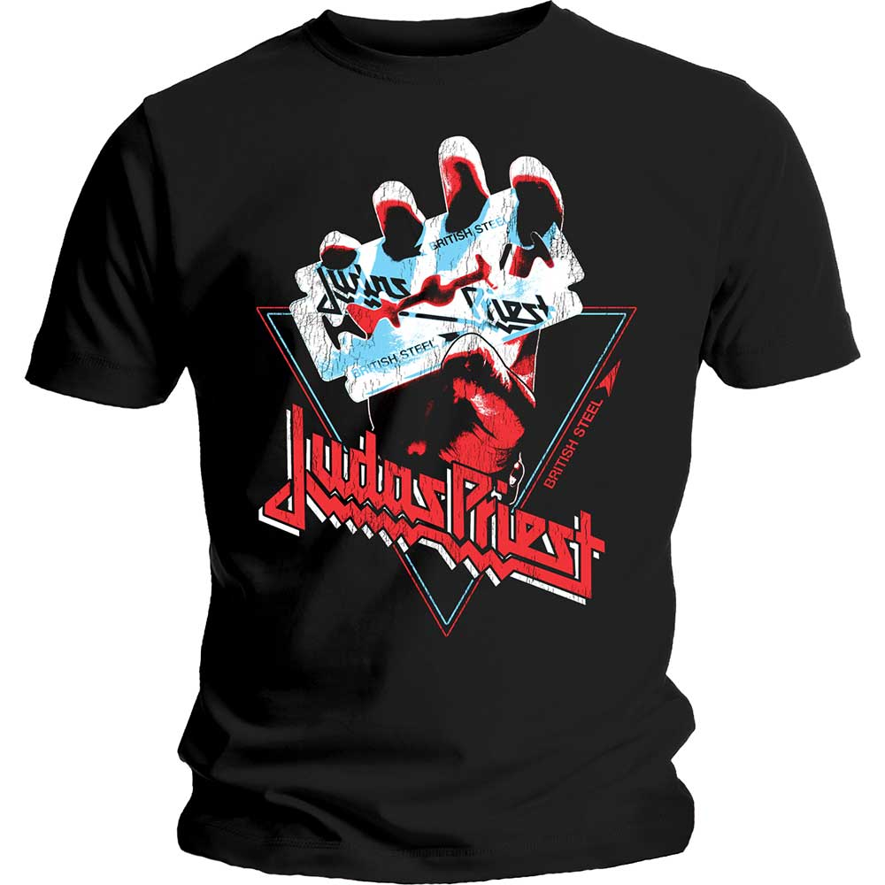 JUDAS PRIEST British Steel Hand Triangle