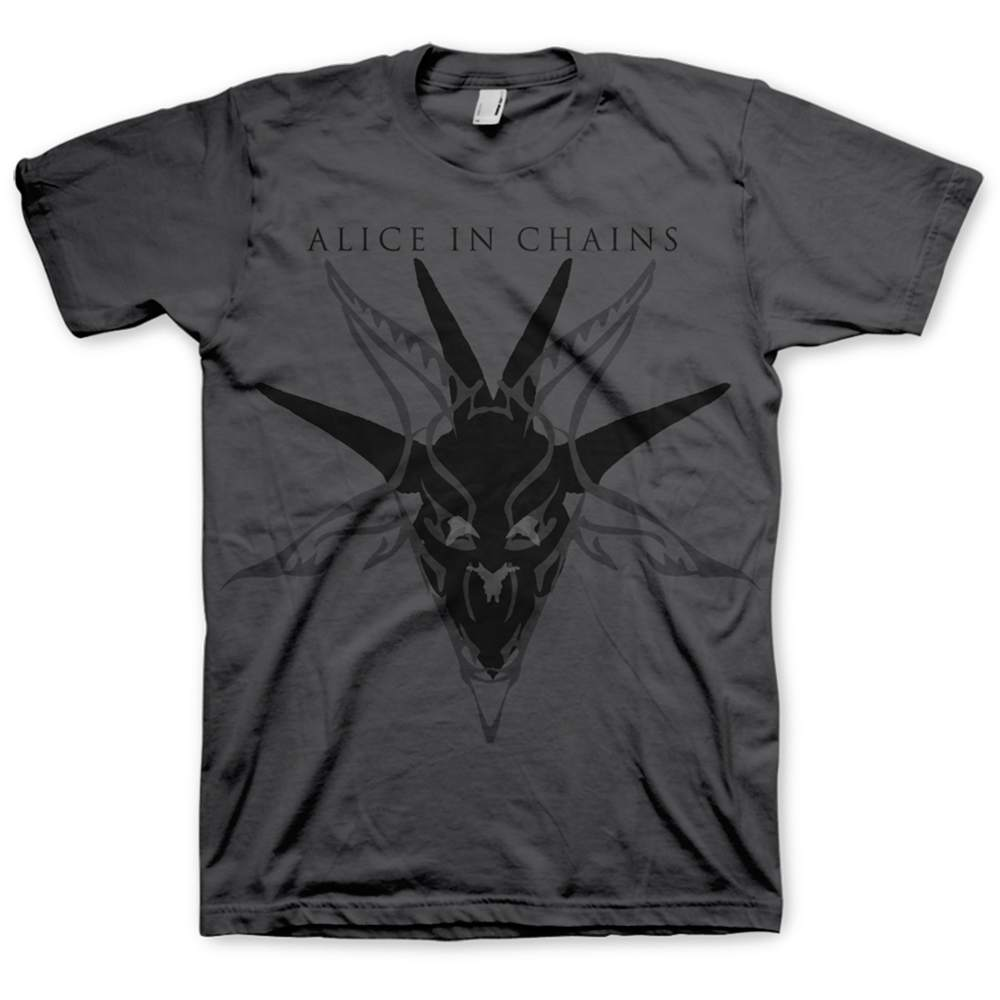 ALICE IN CHAINS Black Skull