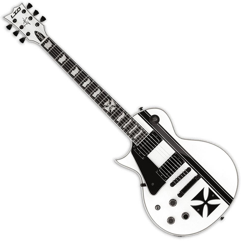 ESP LTD James Hetfield Iron Cross Lefty