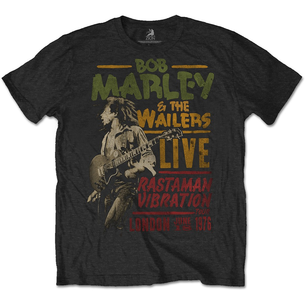 BOB MARLEY Rastaman Vibration Tour 1976