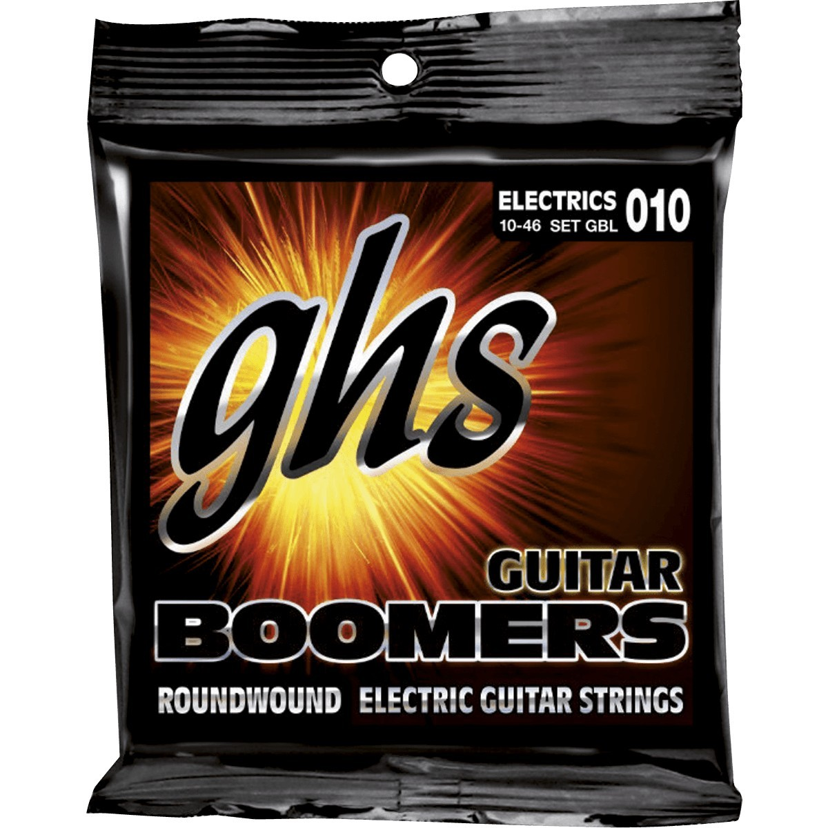 GHS Cordes Electriques Boomers File Rond Light 10 46