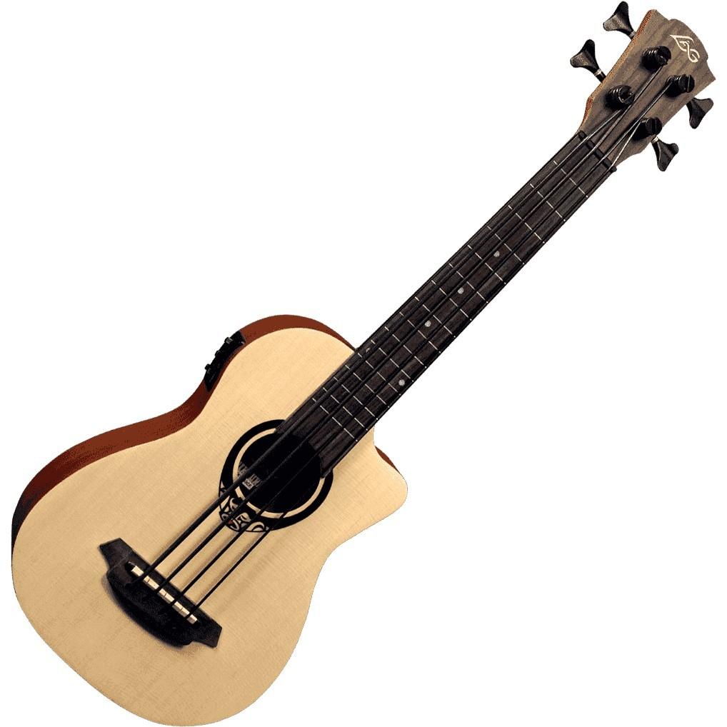 LAG TIKI 150 Mini Bass Cutaway Acoustic Electric