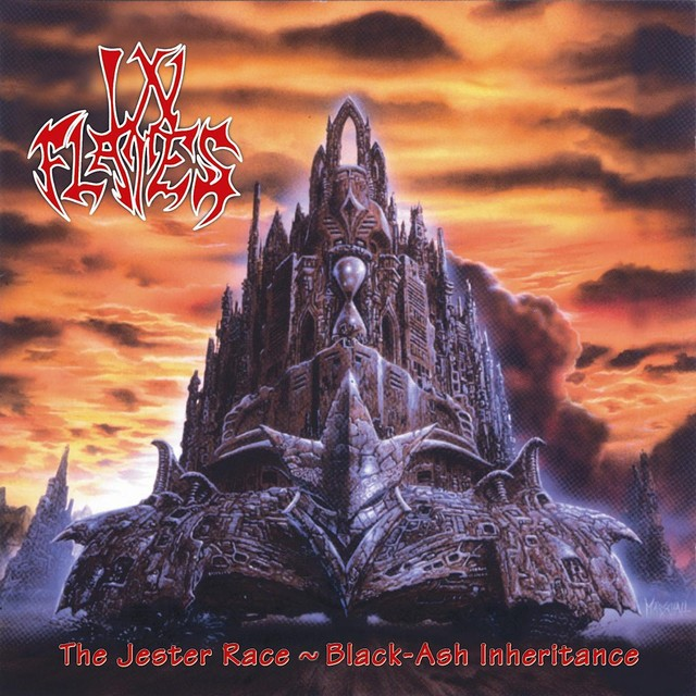 IN FLAMES The Jester Race Black Ash Inheritance