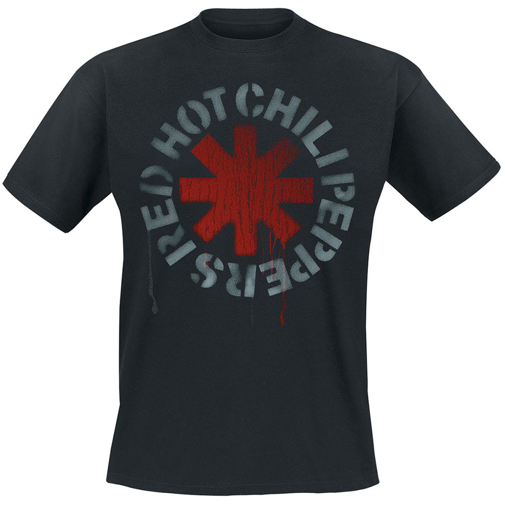 RED HOT CHILI PEPPERS Stencil