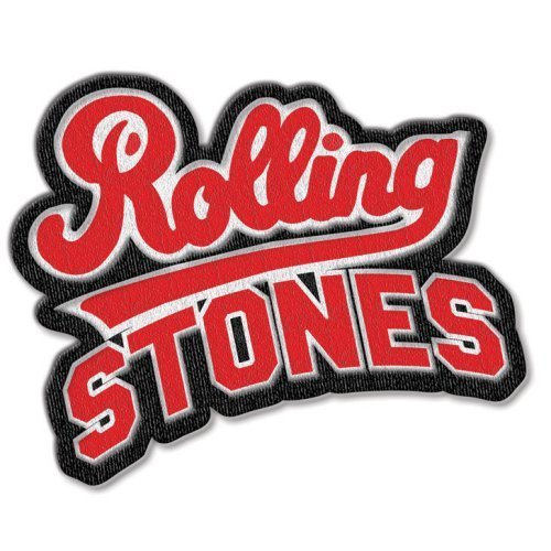 THE ROLLING STONES Team Logo With Iron On Finis