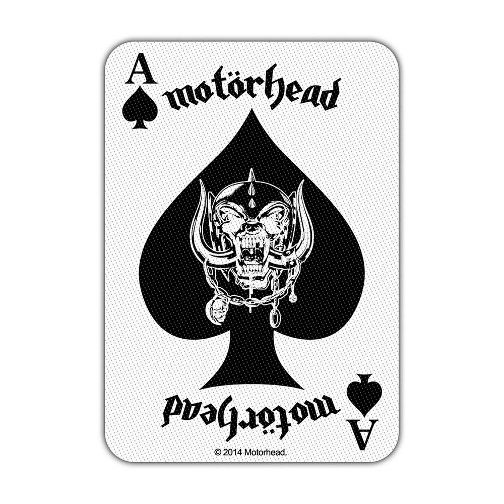 MOTORHEAD Ace Of Spades Card
