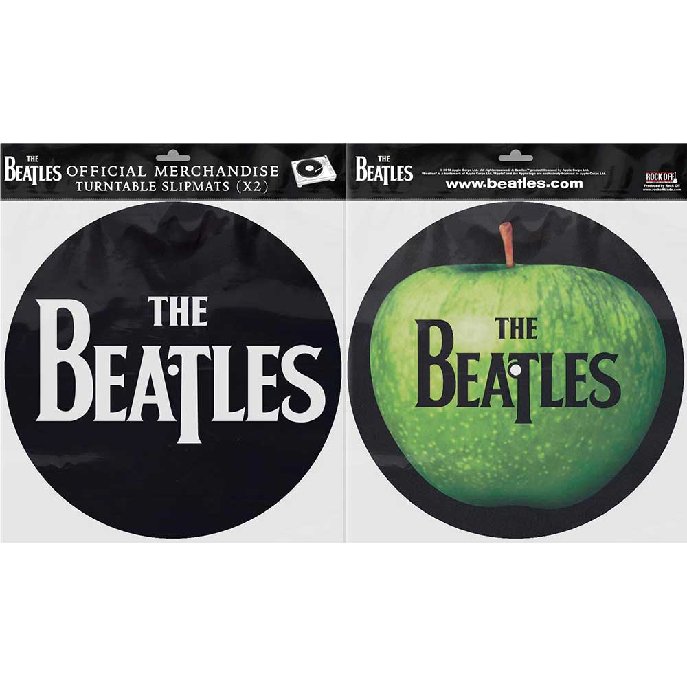 THE BEATLES Drop T Logo and Apple