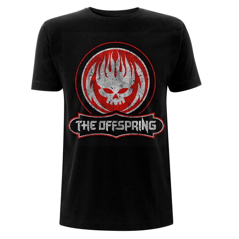THE OFFSPRING Distressed Skull