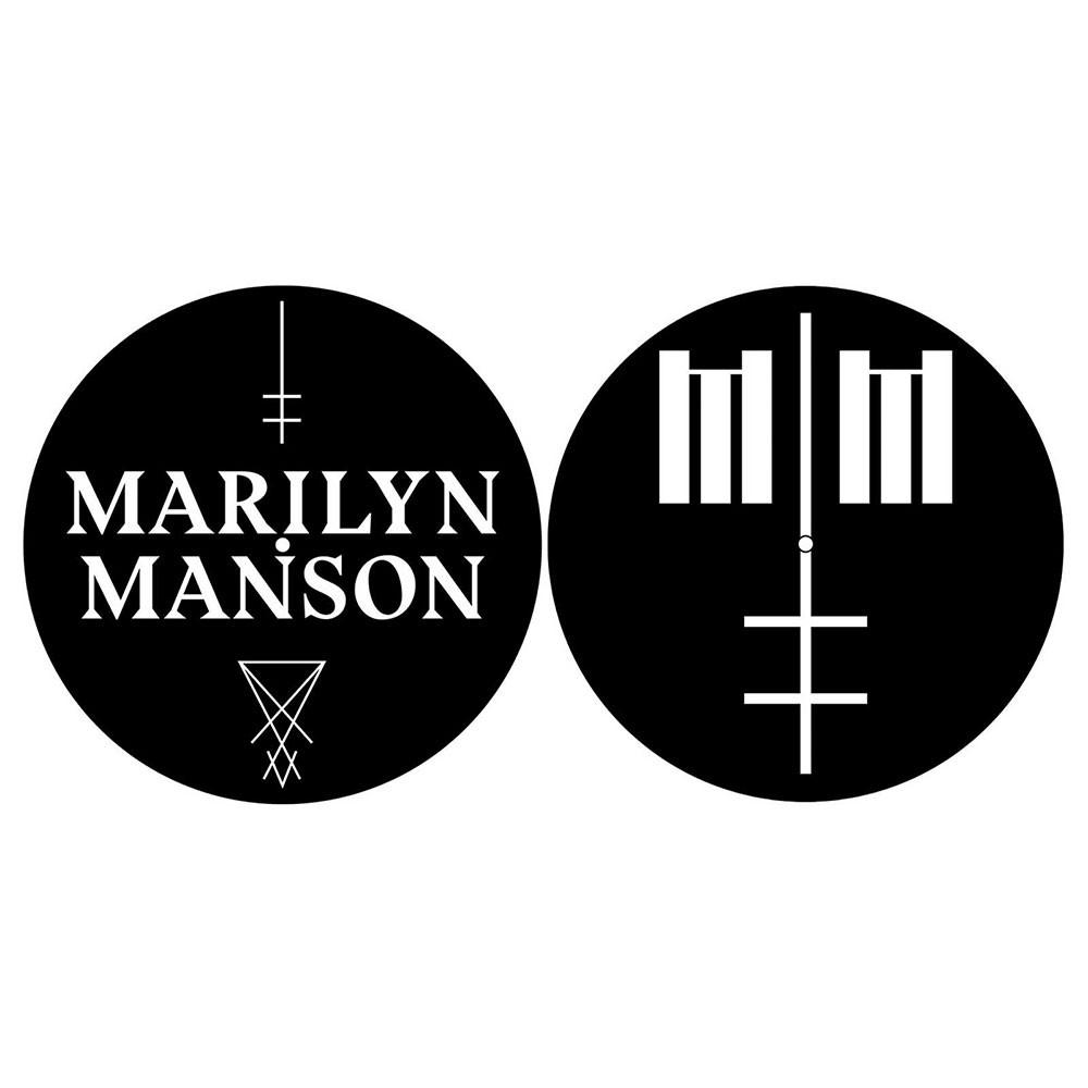 MARILYN MANSON Logo Cross