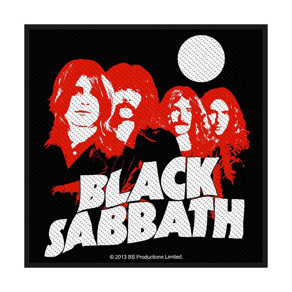 BLACK SABBATH Red Portraits
