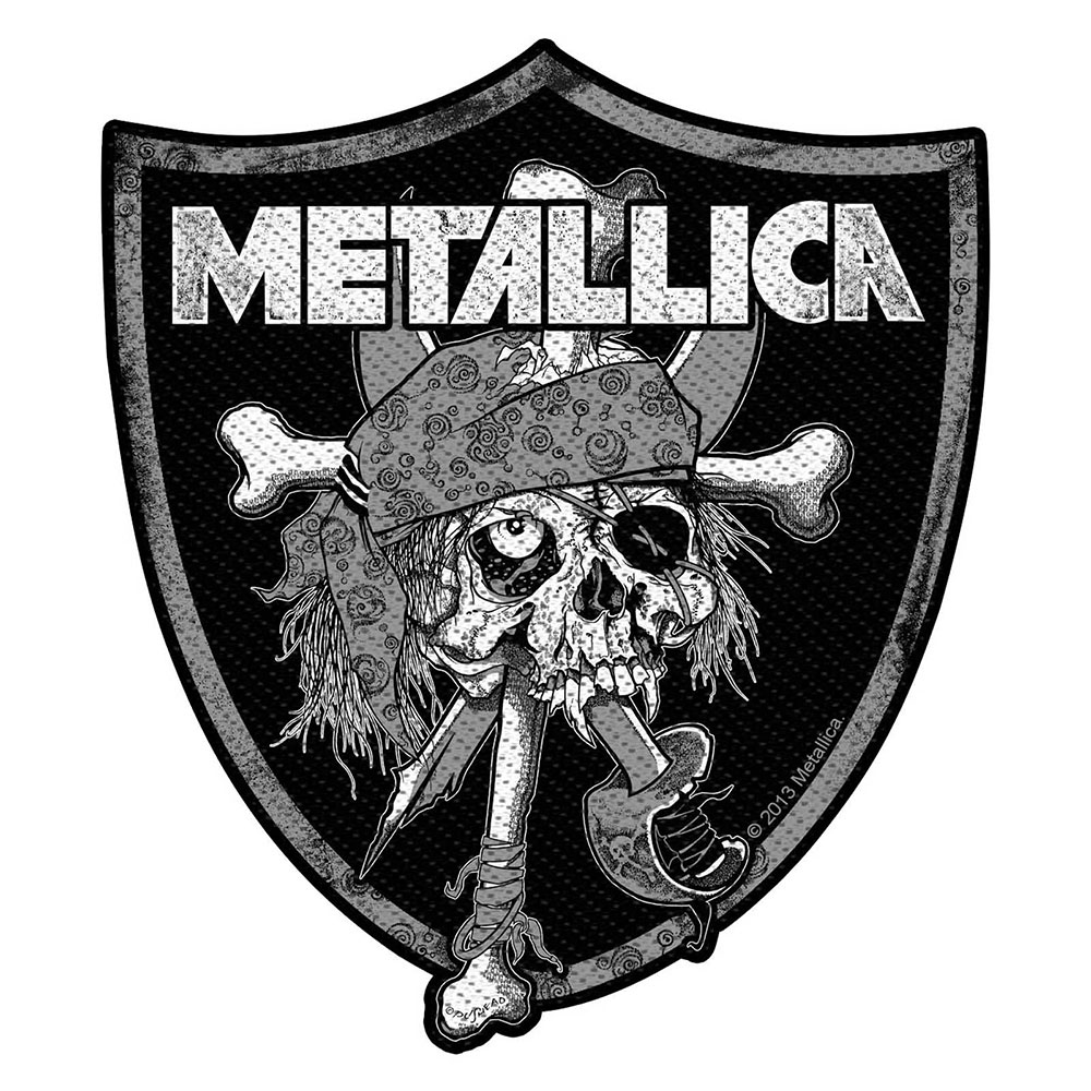 METALLICA Raiders Skull