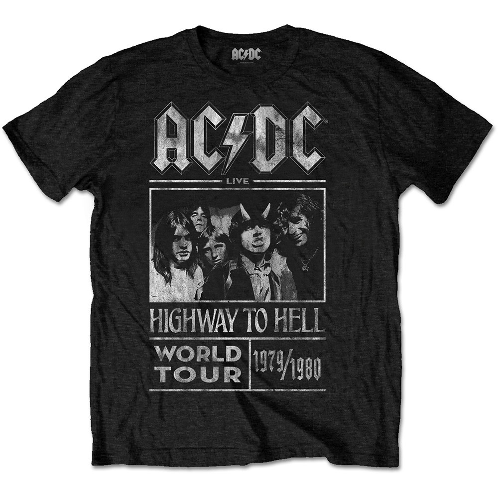 ACDC Highway To Hell World Tour 1979 1980