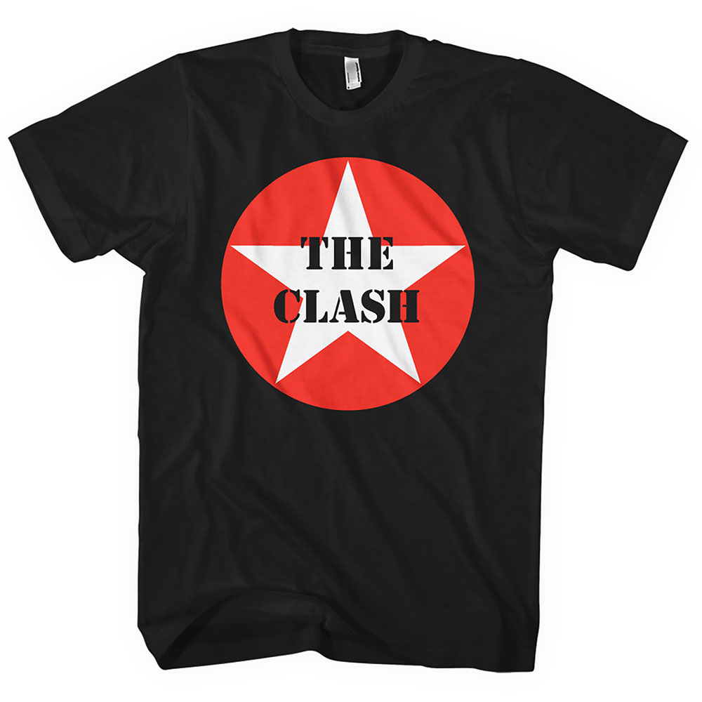THE CLASH Star Badge