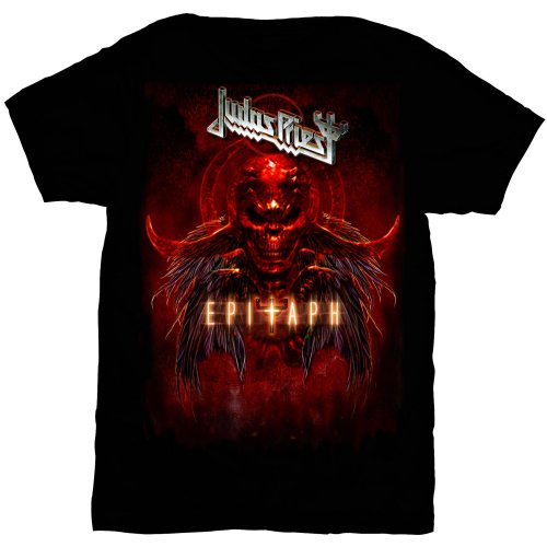 JUDAS PRIEST Epitaph Red Horns